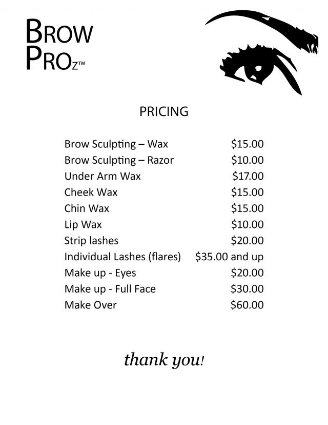 Boston Threading Spa Prices